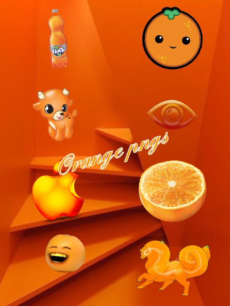 Orange pngs