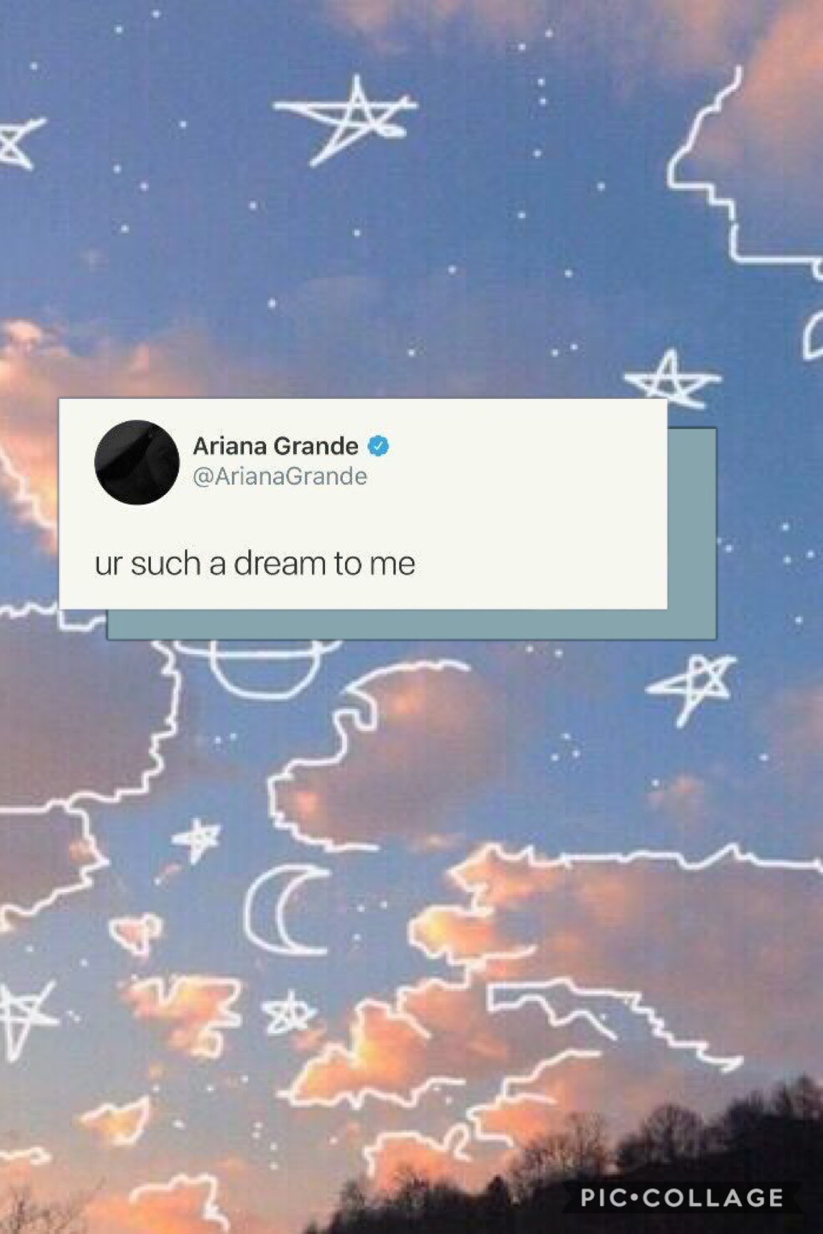 ☁️ur such a dream to me☁️