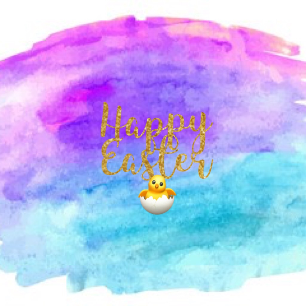Happy Easter 🐣  Hope you a lovely day xx