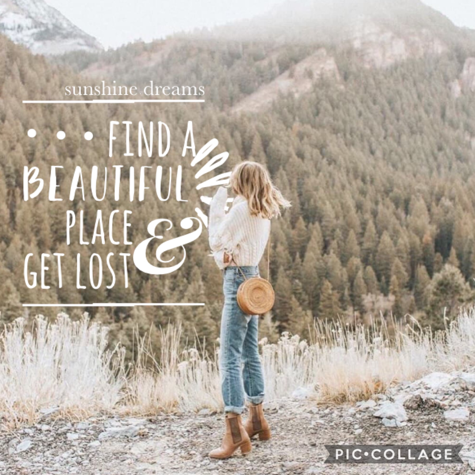 find a beautiful place & get lost🌲