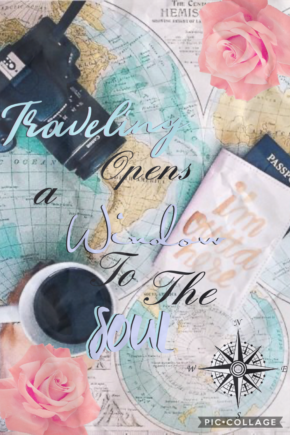 Traveling opens a window to the soul