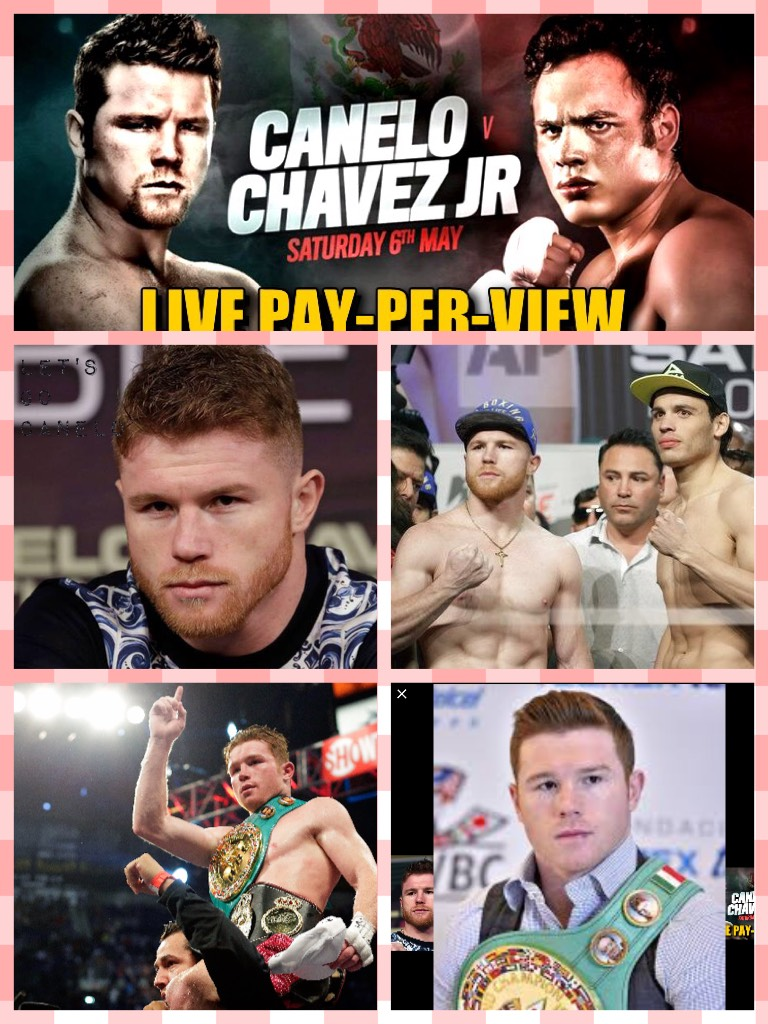 Let's go canelo