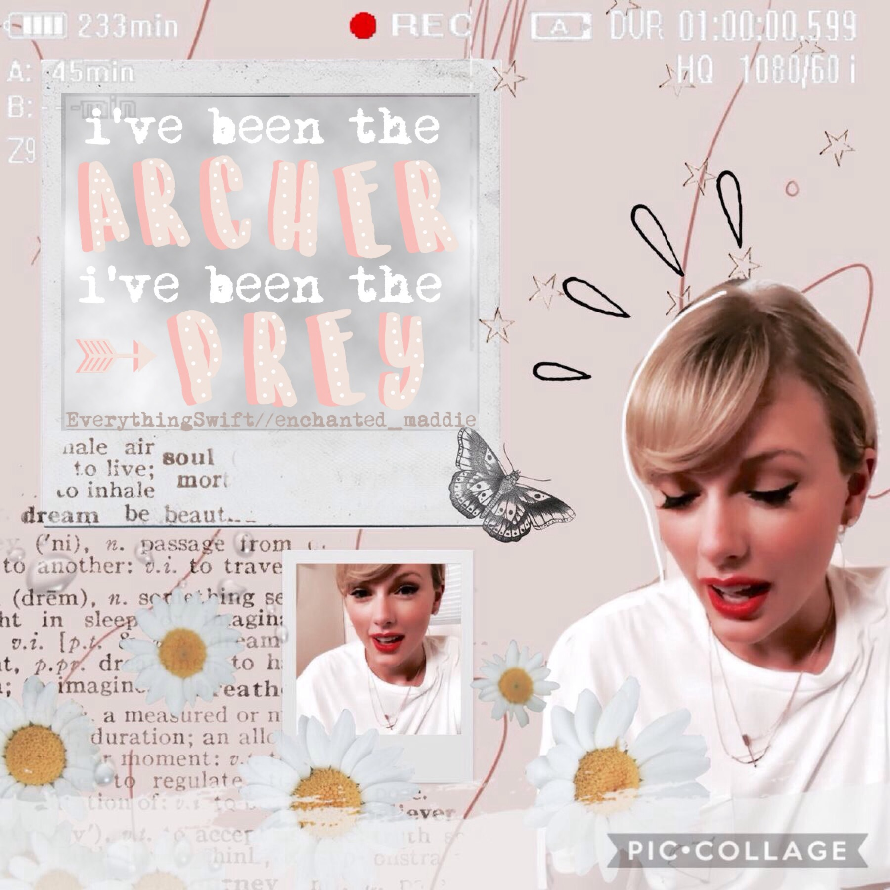 ✰ t a p  f o r  c o l l a b ✰ collab with new bestie enchanted_maddie she's new but deserve sm more love and support! also the archer (taylor's new song) is so freaking perfect! qotd: fav song on lover so far? aotd: the archer, it's just so meaningful