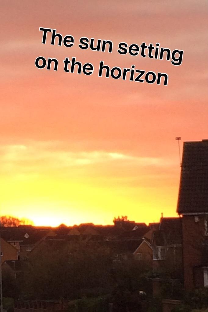 The good British sunset 🌅
