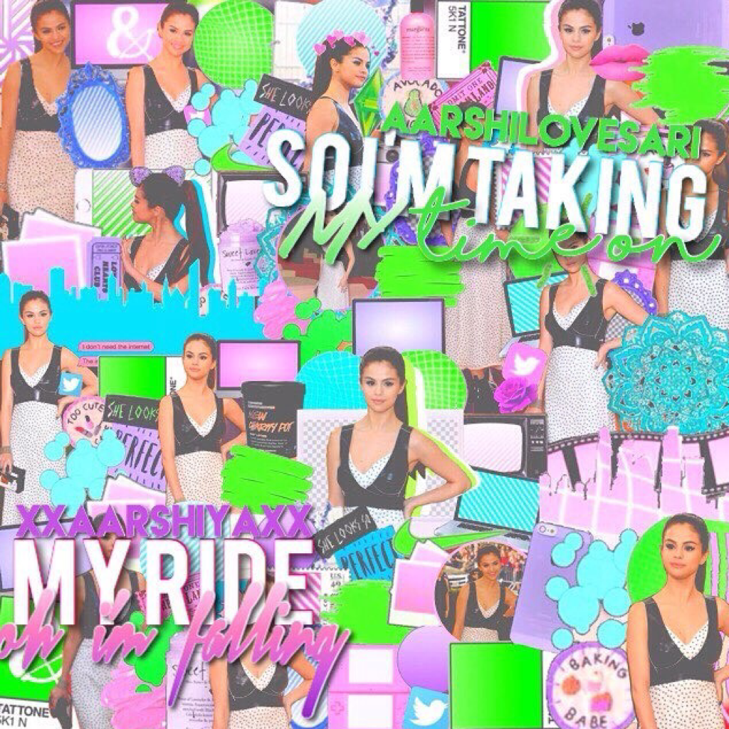 I love how this turned out! also I've always loved sel but I like even more after yesterday 😂😂