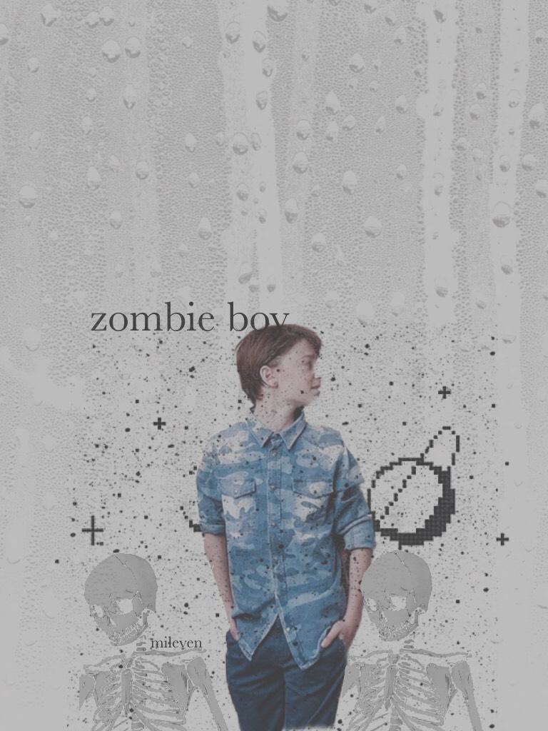 zombie boy.💖🧟♂️🍬