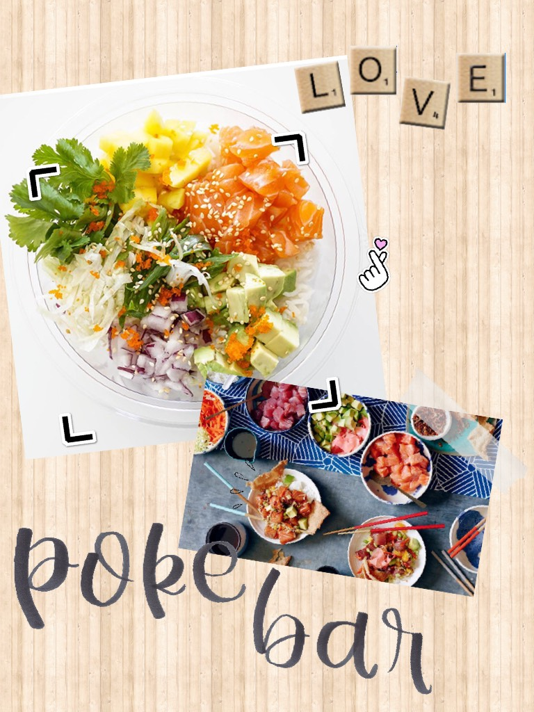 Poké Bar is so good! I don't know if it's available in all the states or internationally. If you can, try this place out