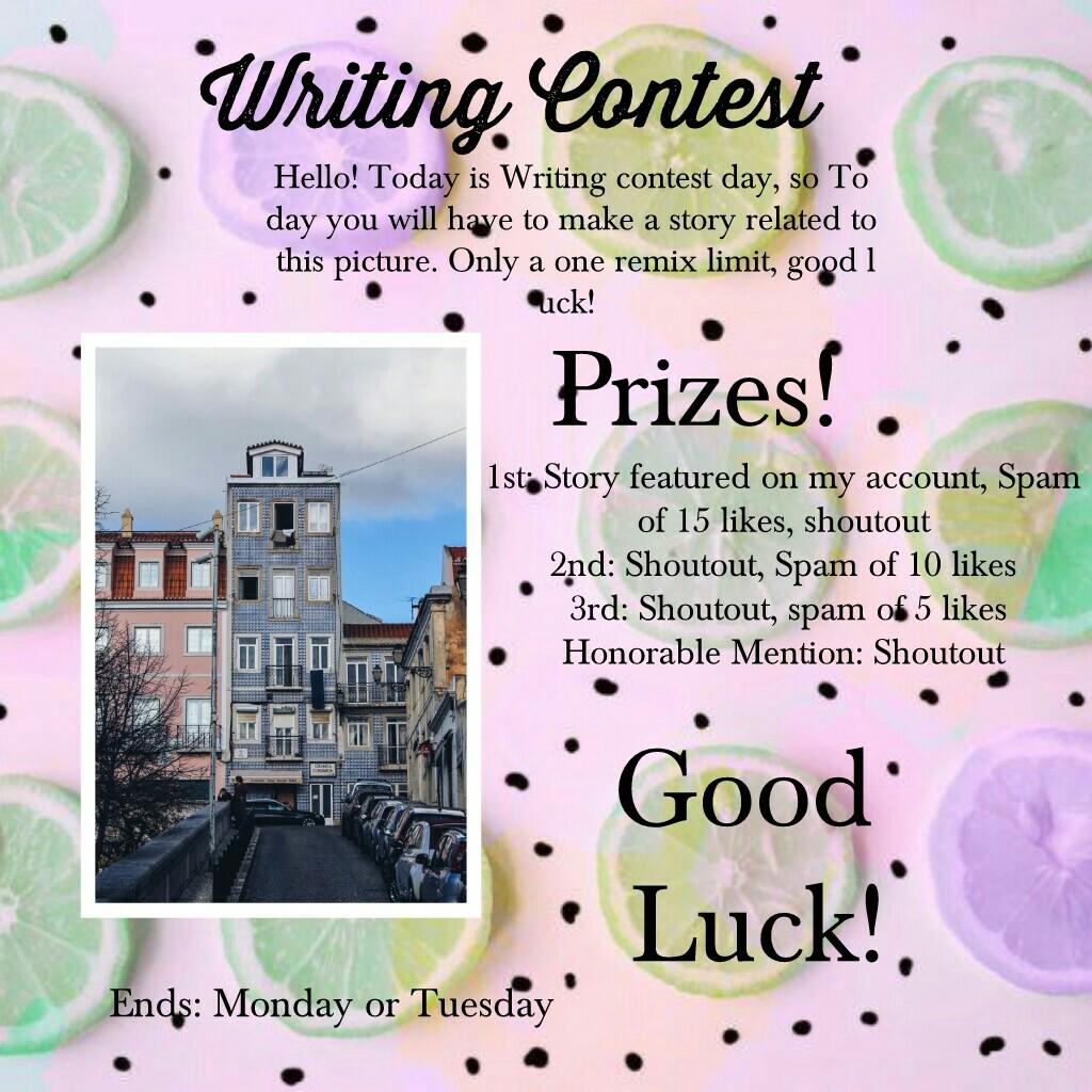 Writing Contest!