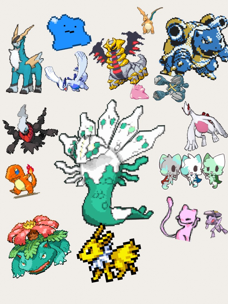 Pokémon everywhere