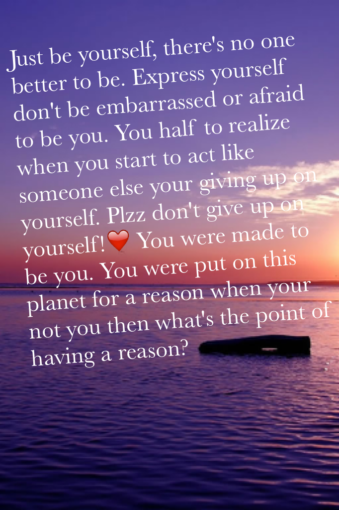 You have a reason! #makeadifference
