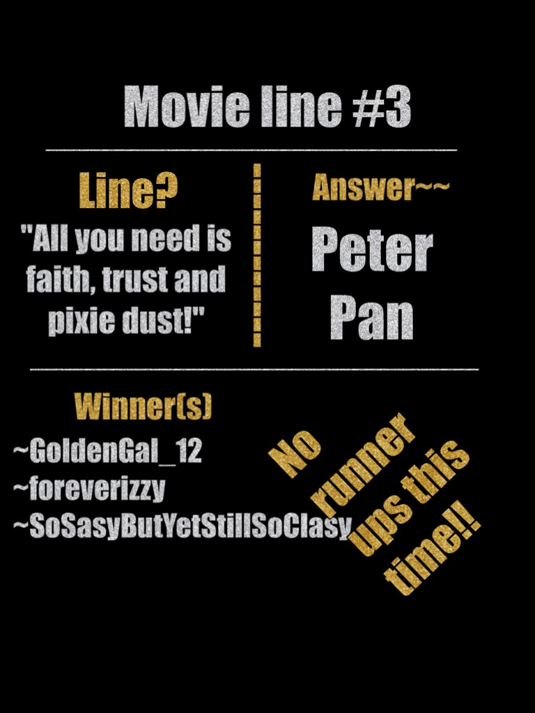Whooooot!! Everyone got the answer! Good job peeps!
