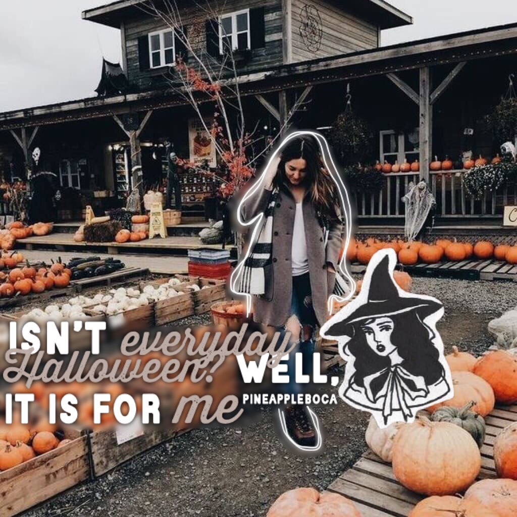 🧙🏻‍♀️ • Day 5 of The Halloween Challenge • 🧙🏻‍♀️ The first month of school is over, and I already want a break. I have a lot of homework. I am trying to stay active and post everyday of The Halloween Challenge!