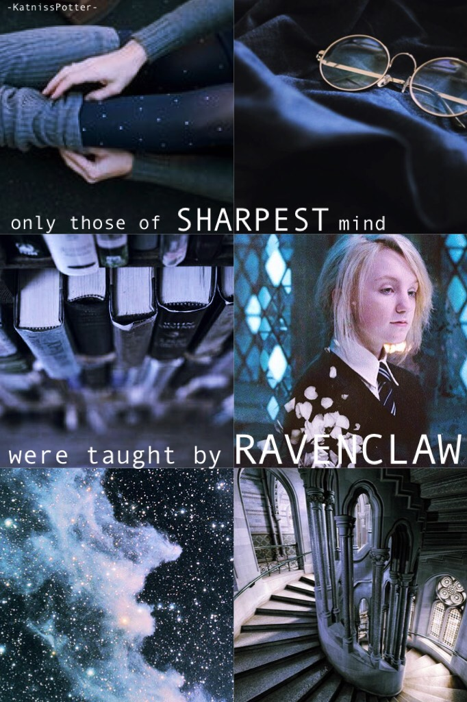 CLICK I posted this weird Ravenclaw aesthetic thing for hermionejeaneverdeen's games. Thoughts? #featuremyfandom ❤️⚡️🏹❤️