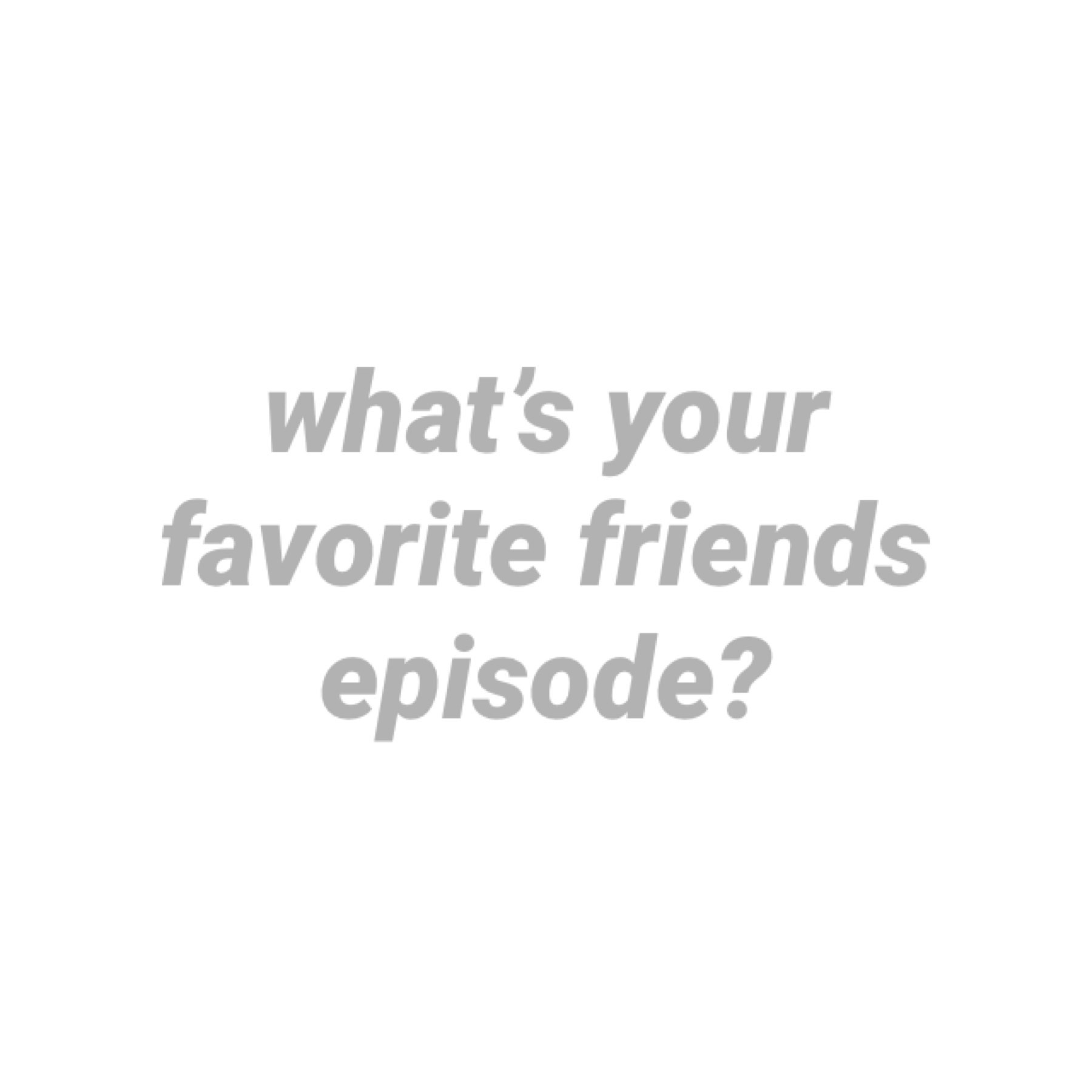 I feel like watching friends but idk which episode — maybe I'll watch the thanksgiving ones I want something cozy ☕️