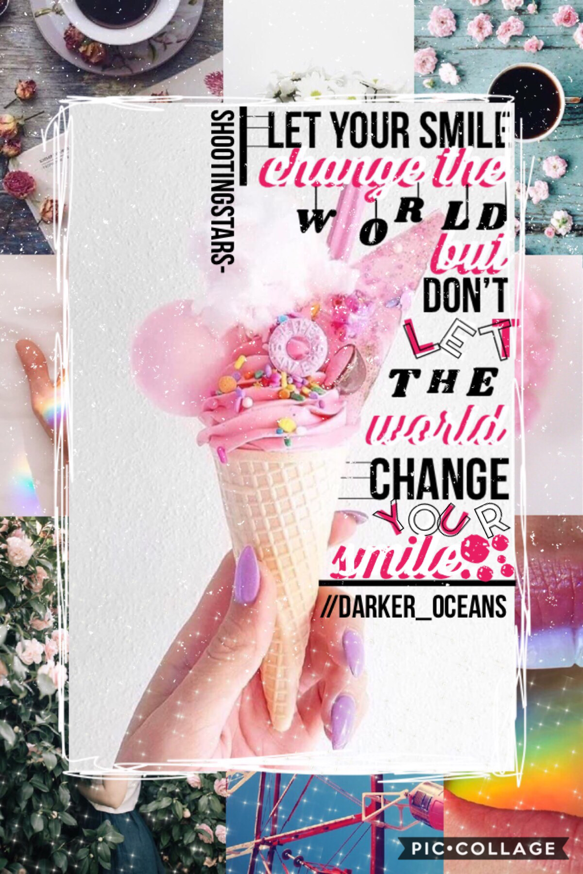 🍦{35/43}Collab with the cool (Tap)🍦 Darker_Oceans! Go follow em! OMG I have this new individual style that I am planning to show you guys but that's in a few months, it's inspired by the FANTASTIC AMAZING SUPERCALIFRAGILISTIC meandmeonly!!! QOTD in commen