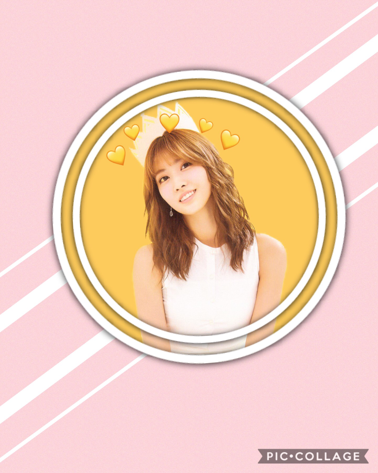 """I will try to be more positive"" The circle things are pretty cool LOL MO! MO! RING!"