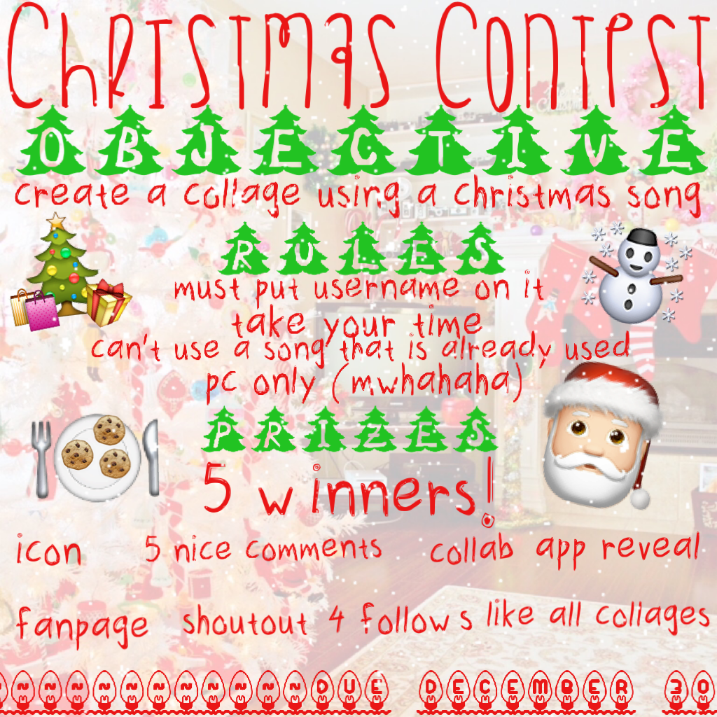I worked really hard on this guys! I hope you enter!