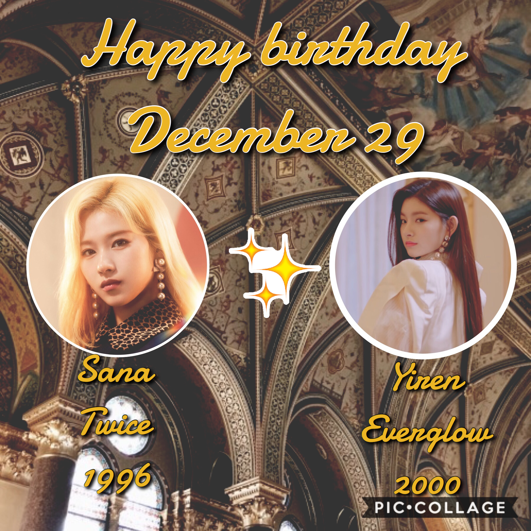 •🎈❄️• Happy birthday to these beautiful and talented girls🥺 ⛄️❄️~Whoop~❄️⛄️