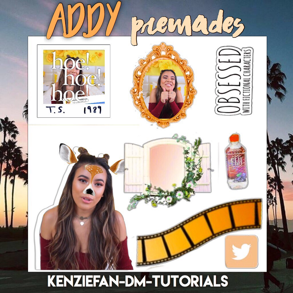 Addy premades hope you guys like them. Comment down People I should do.