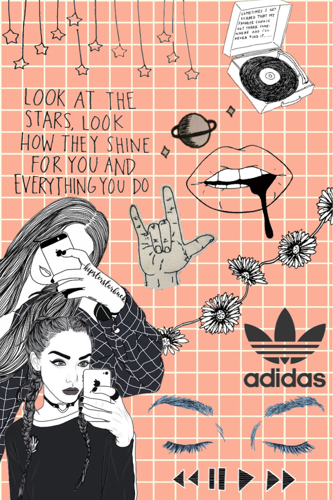 Collage by -hipsterstarbucks-