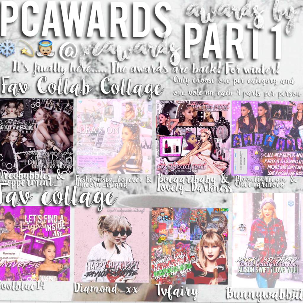 Hey🙊I'm Back with a new award show🌟Make sure to enter all four parts😚 1/4