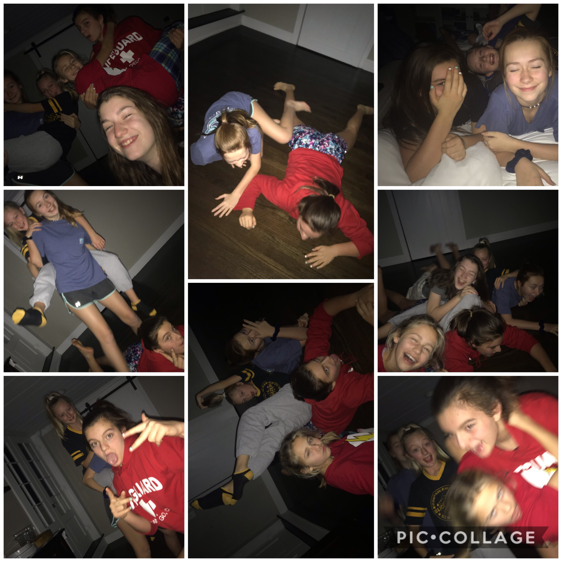 Sleepover❤️. This was sooo much fun. We took the stupidest photos but there all great😂