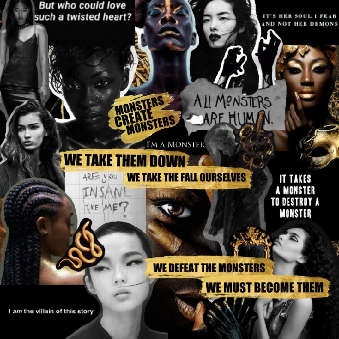 Full poem will be coming soon, and it might be one of my favourites. Also reminder: put more diversity in your collages :)