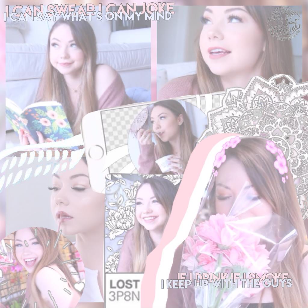 ✨Click✨ Mere Bear edit using Ashas premades ✨ Happy BIRTHDAY Sabrina ✨ I'm not just a pretty girl✨🌌✨