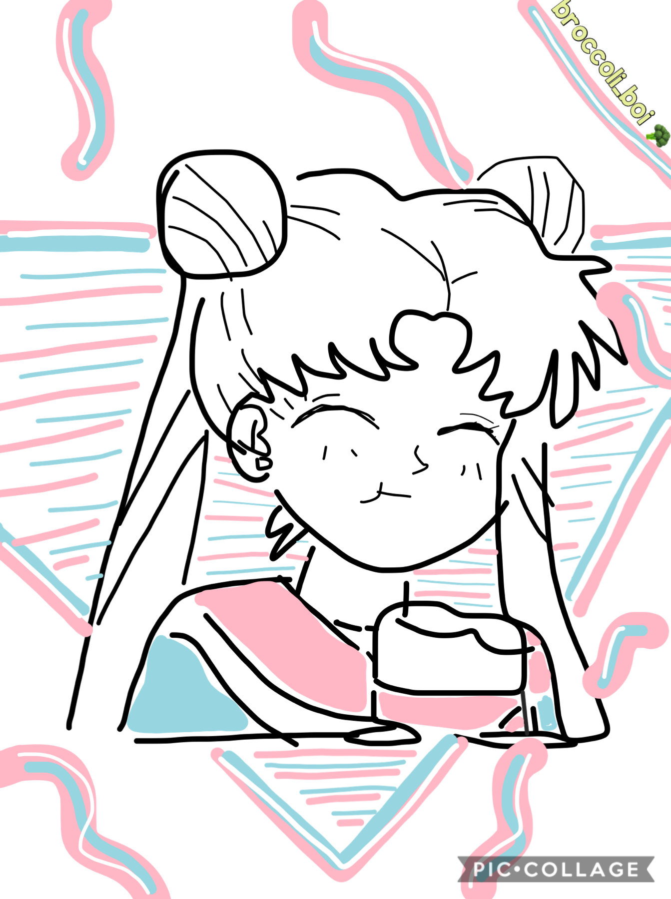 Tap Last repost dis one is a sailor moon drawing I did here on pc
