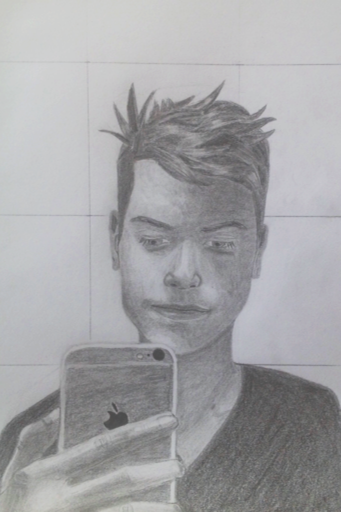 Latest drawing ~ one of my best friends