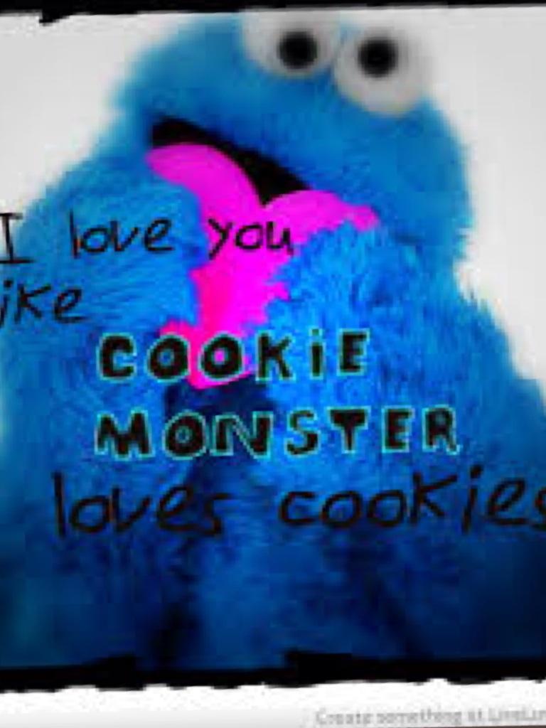 cookie monster quotes - 500×492