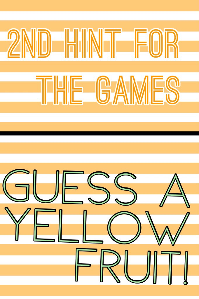 Guess a yellow fruit!