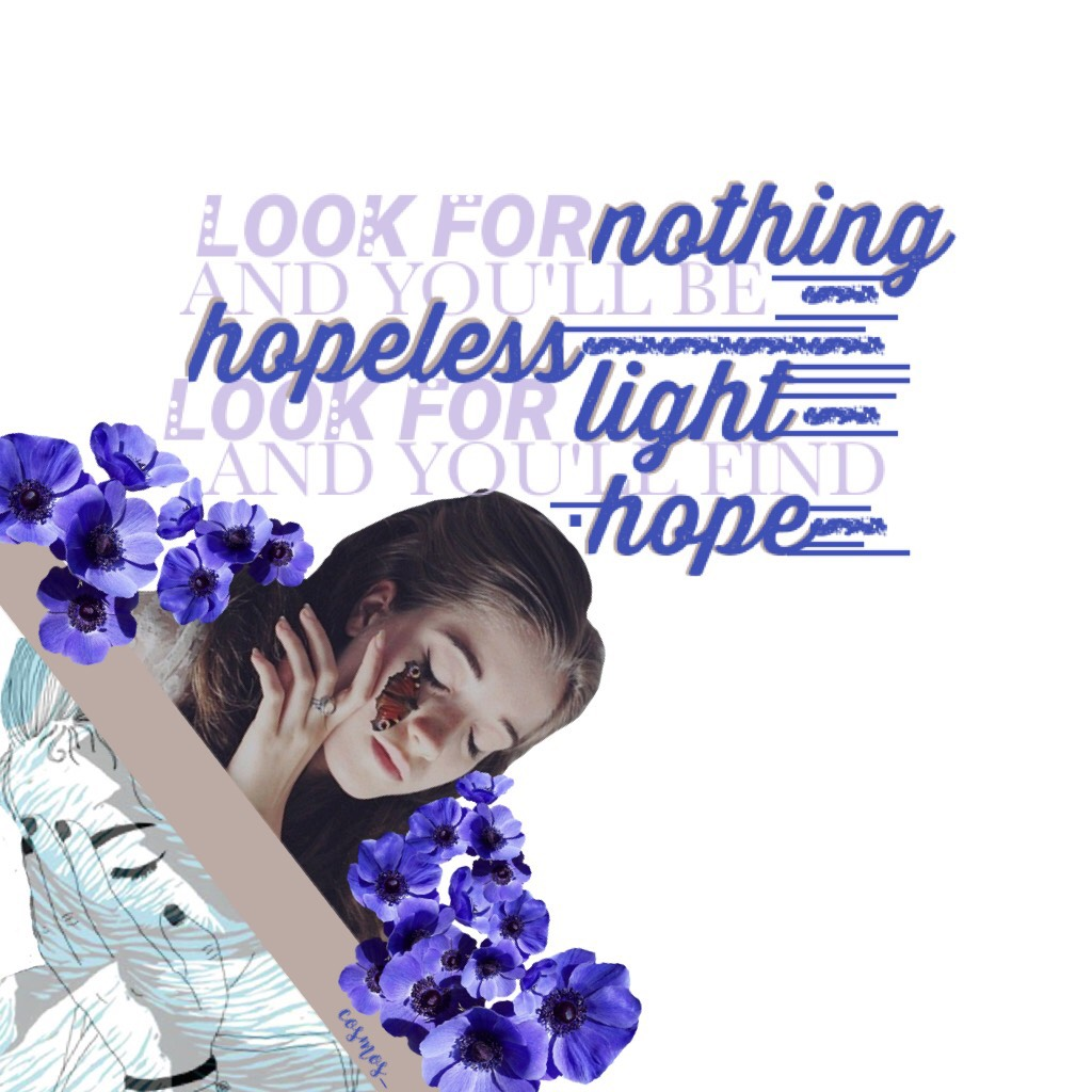 Day one   05/15/2017 (...)   if someone says 'hope dies the last' i'm the kind of person who says 'but it dies'... Jocie is my other side, she would always stay positive   ✨Ariella✨