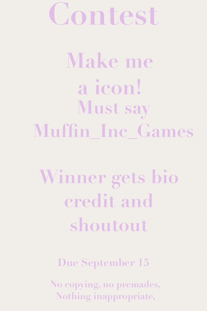 Enter and win!
