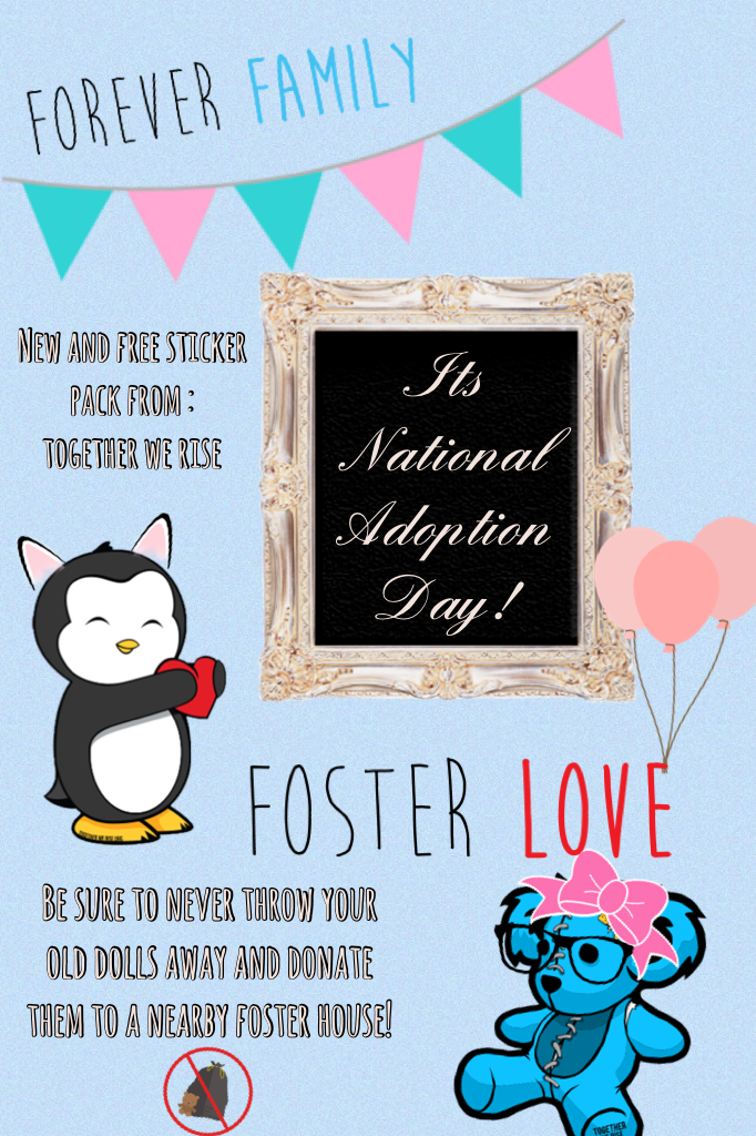 Its National Adoption Day!