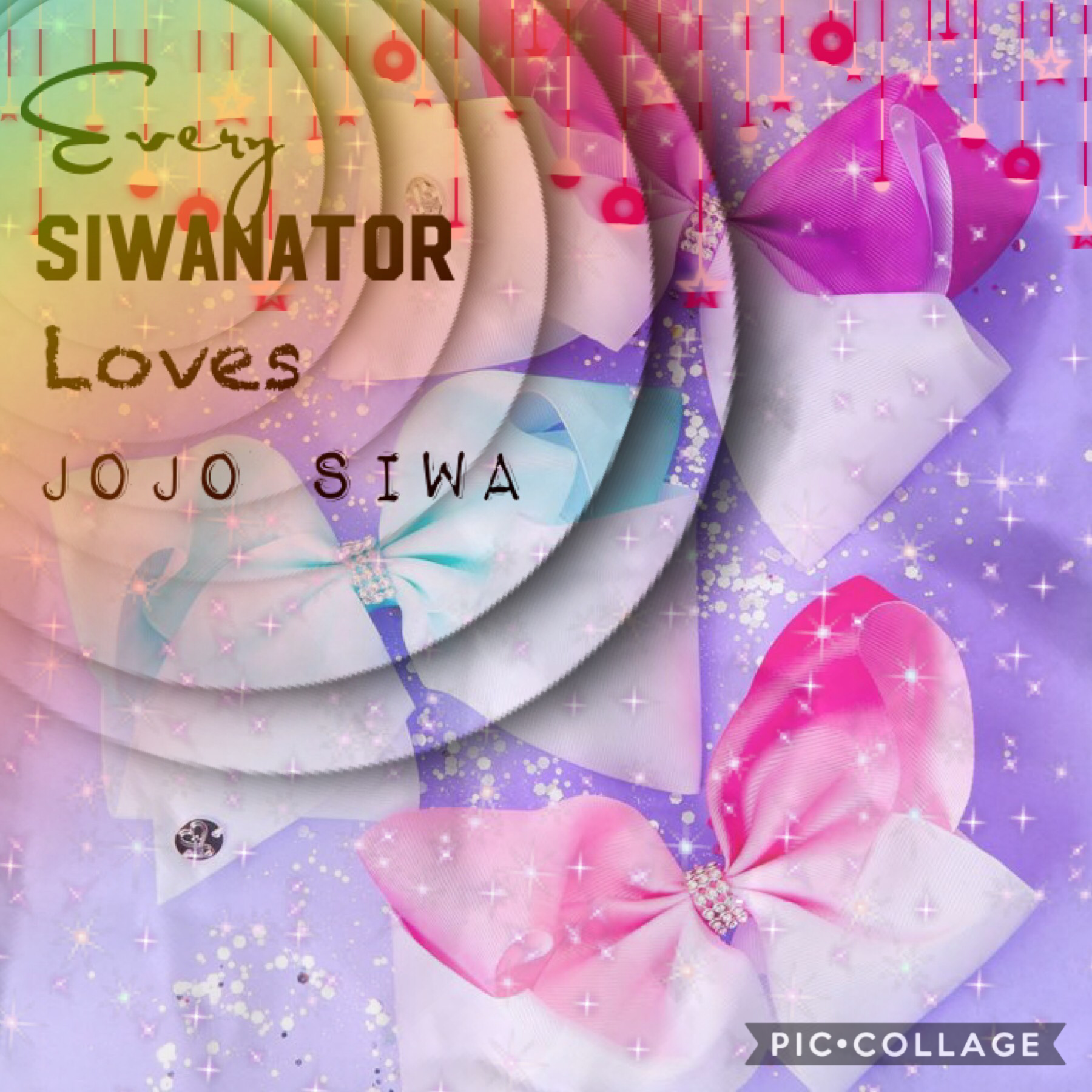 Tap💜  I really hope this one gets featured  QOTD: Do you have any JoJo Siwa Bows if so how many do you have AOTD: I have 8 JoJo Siwa Bows