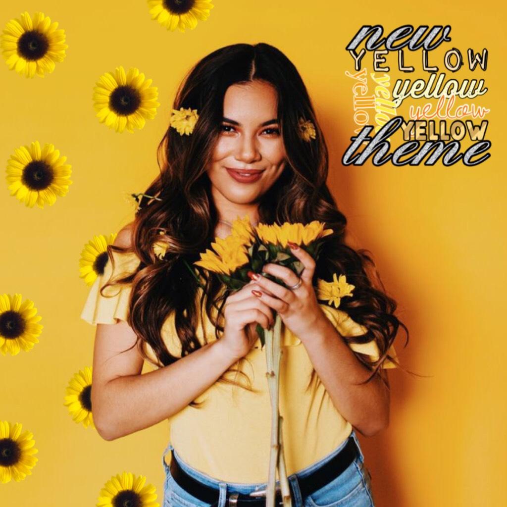 🌻 tap the sunflower 🌻  Yellow theme!! 💛💛💛 QOTD: Do you watch Adeleine Morin?  AOTD:yaaasss!!