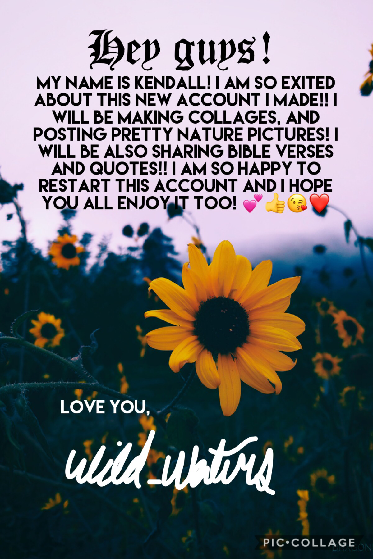 TAPPP FOR MORE INFO!!  Love you so much! And I hope to meet u all! Don't forget to comment so we can chat!!!! 💕💕💕 ttyl! Much love!! #Wild_Waters
