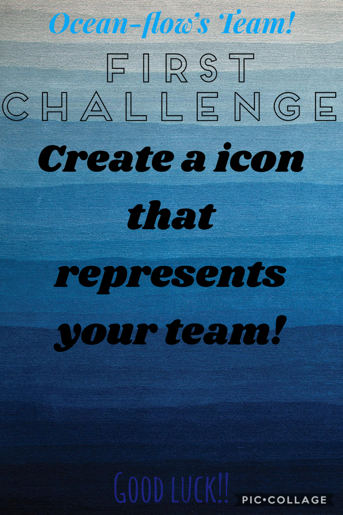 Good luck! (Remix it so I can see what you did for the challenge!)