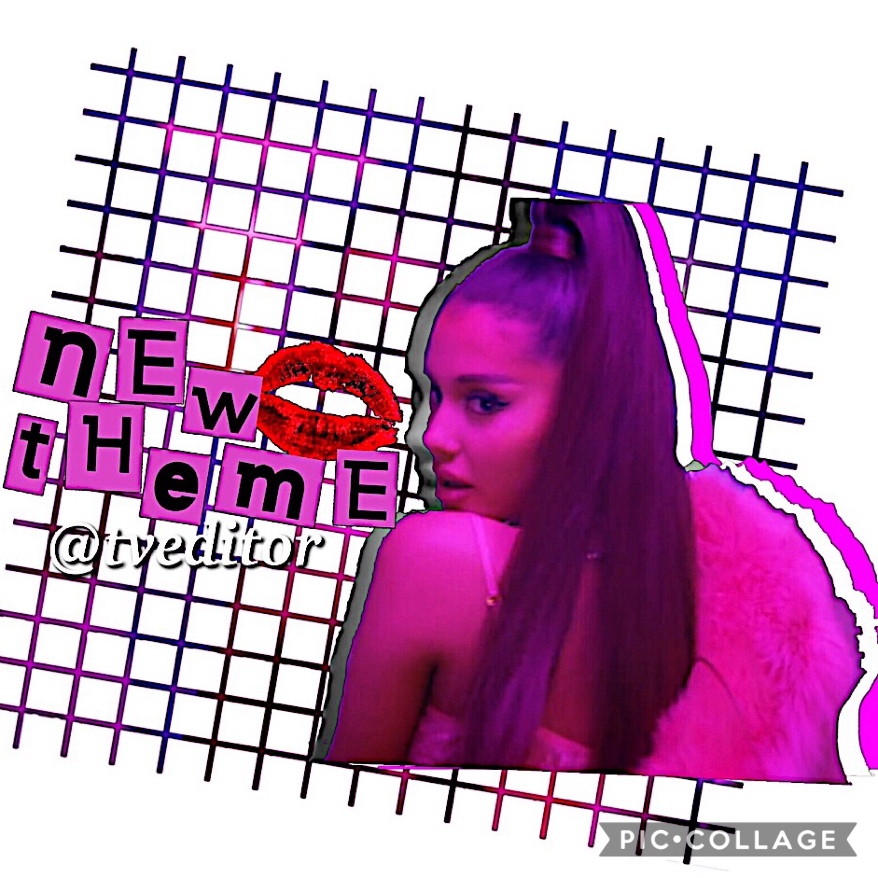 guess who's back💗 creds to the overlay I used for the new theme! I miss you guys all <3  I'll try to be active xx 💋 I love 7 rings y'all 😍😍 cya xo