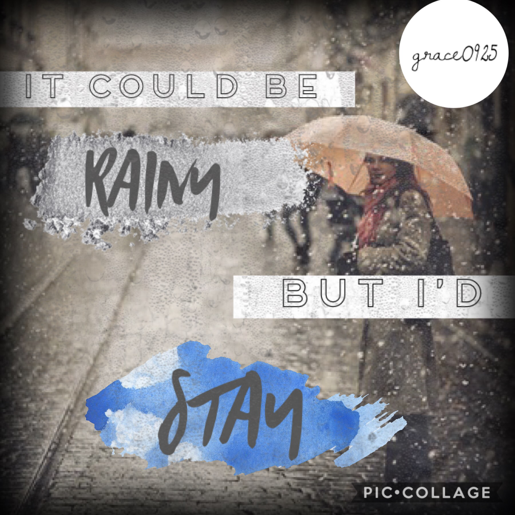 🌧tap🌧  I'm going to try something new for this upcoming week by taking inspiration from other users. Comment on ur favorite collage!! -Grace0925🌻🥀