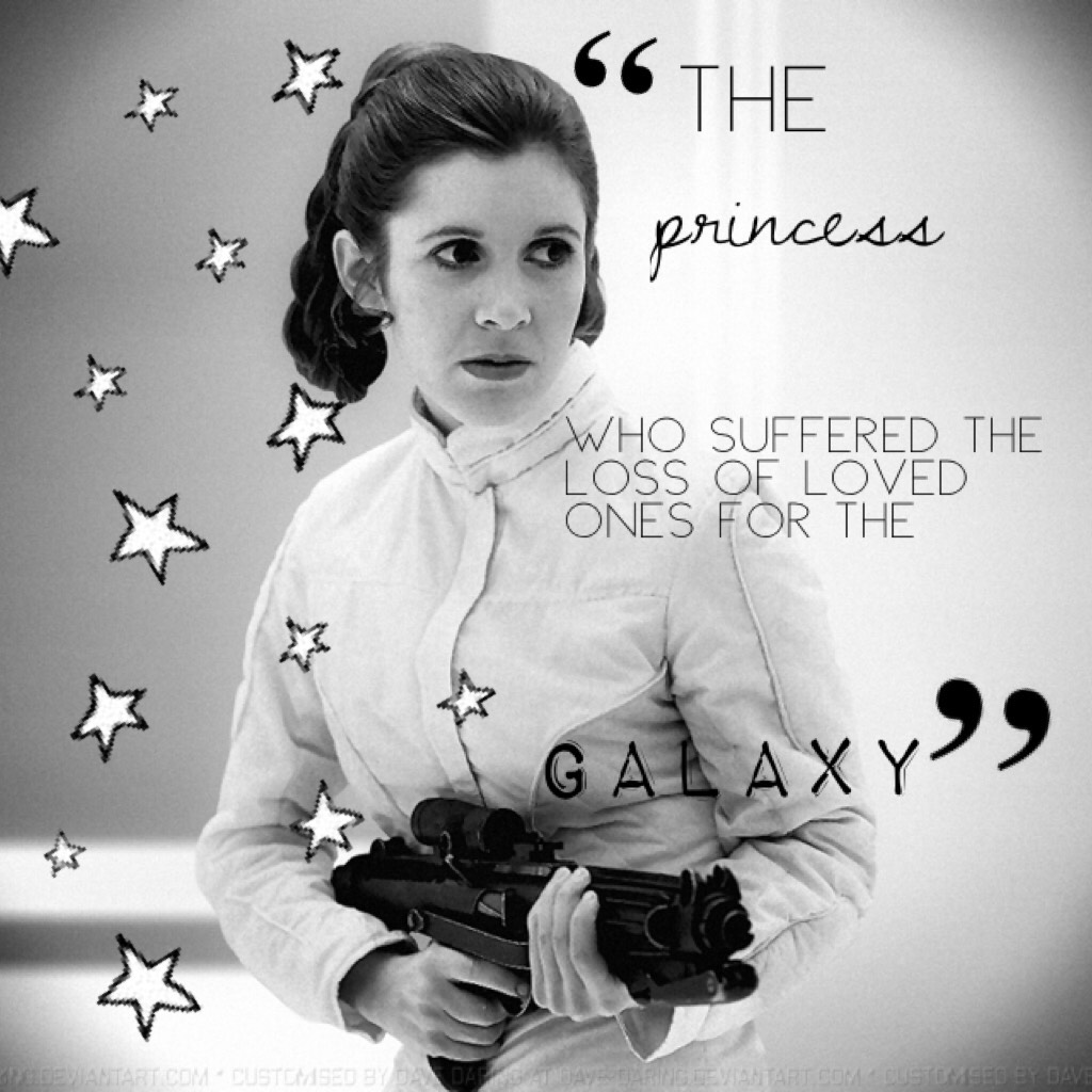 💎tap if you want💎   Princess Leia edit! I told you you could expect another girl-theme! My own quotes, by the way. This might be too long. Check comments!
