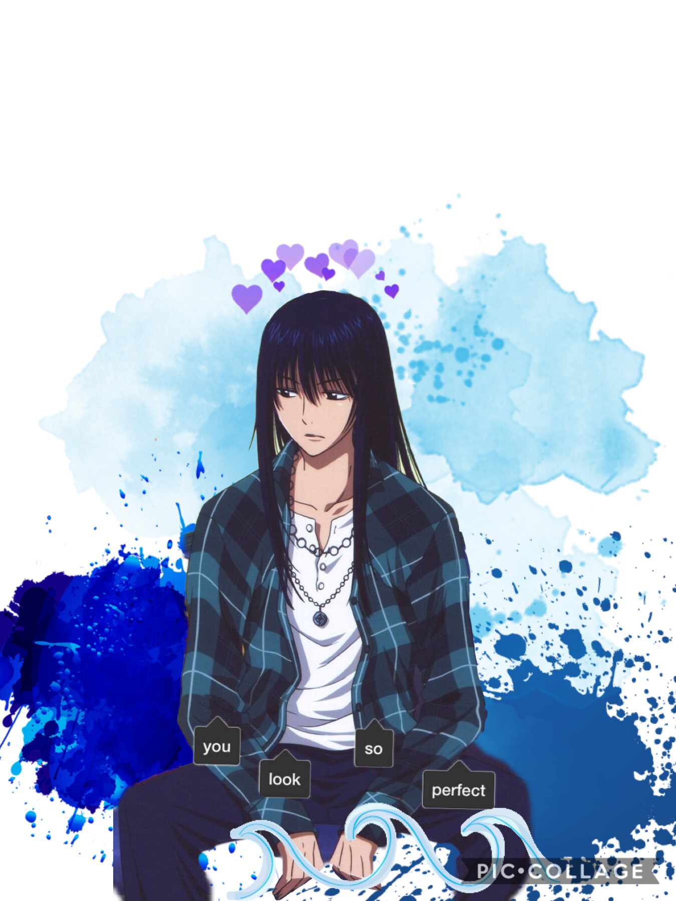 This is kanda from D.gray man (tap)  He is my manz and my friends manz we share him lol