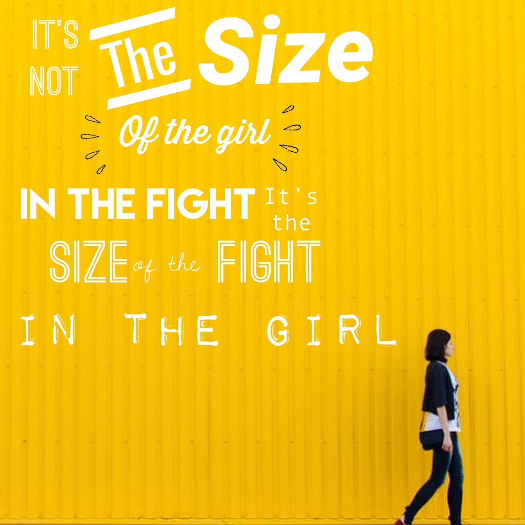 Tap!💪❤️ Yaaaaaassssssssss!!!! We all have so much power inside of us and voice and we need to use it!! Never underestimate the power of women!!!!! Btw, this is yellow in our rainbow!