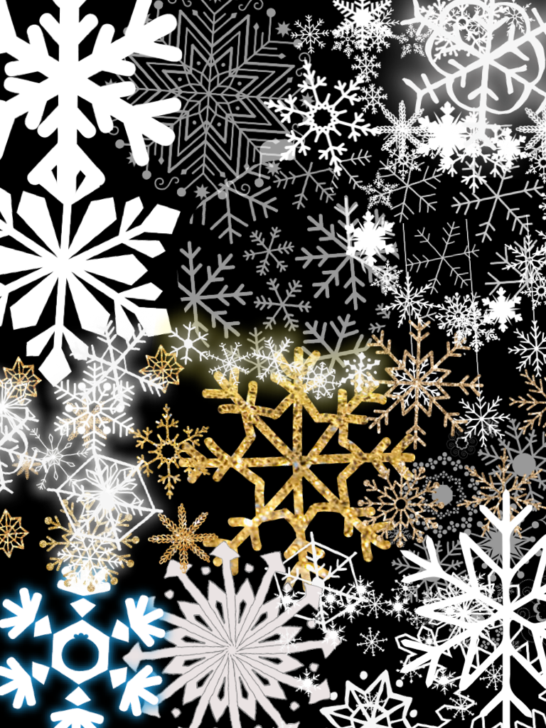 All snowflakes! ❄️