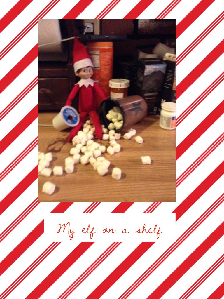 My elf on a shelf