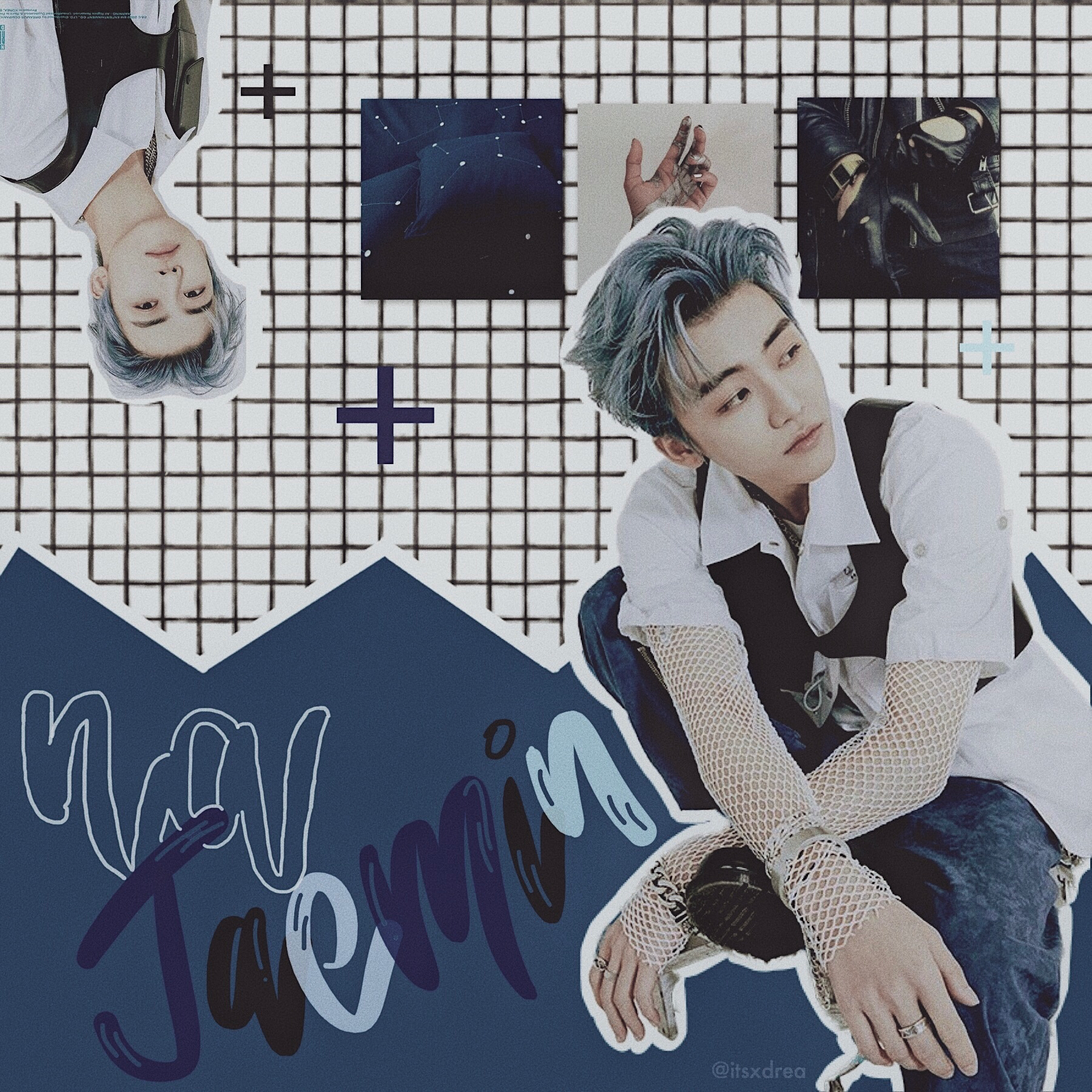"🌌 • na jaemin // nct • | inspired by @crescent on whi | here's an edit of a good boy bc times are rough rn 💚 also i've had ""stuck w u"" by ariana and justin in my head for a long time it's such a vibe"