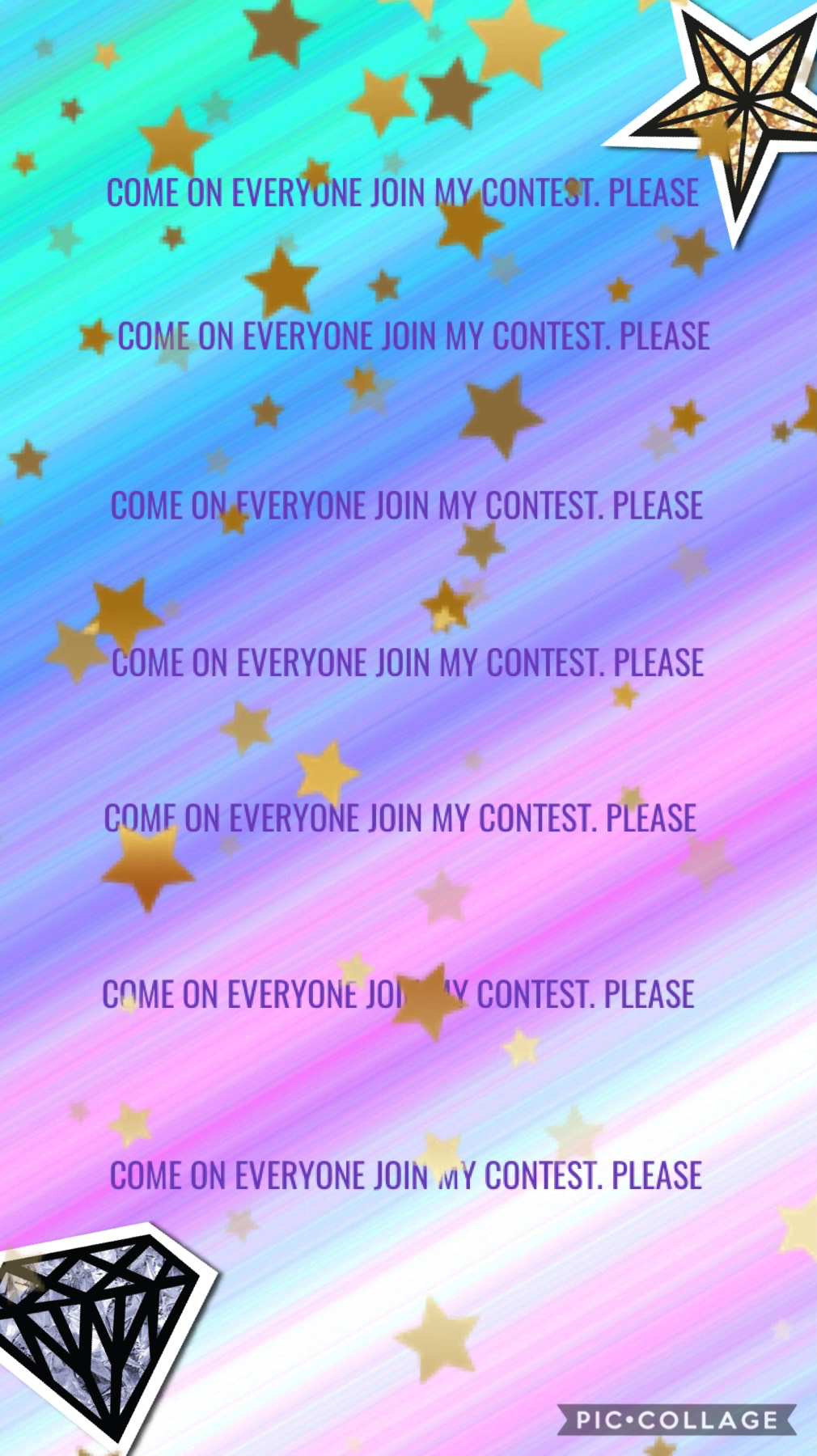 Come on everyone join my contest please⭐️⭐️⭐️⭐️