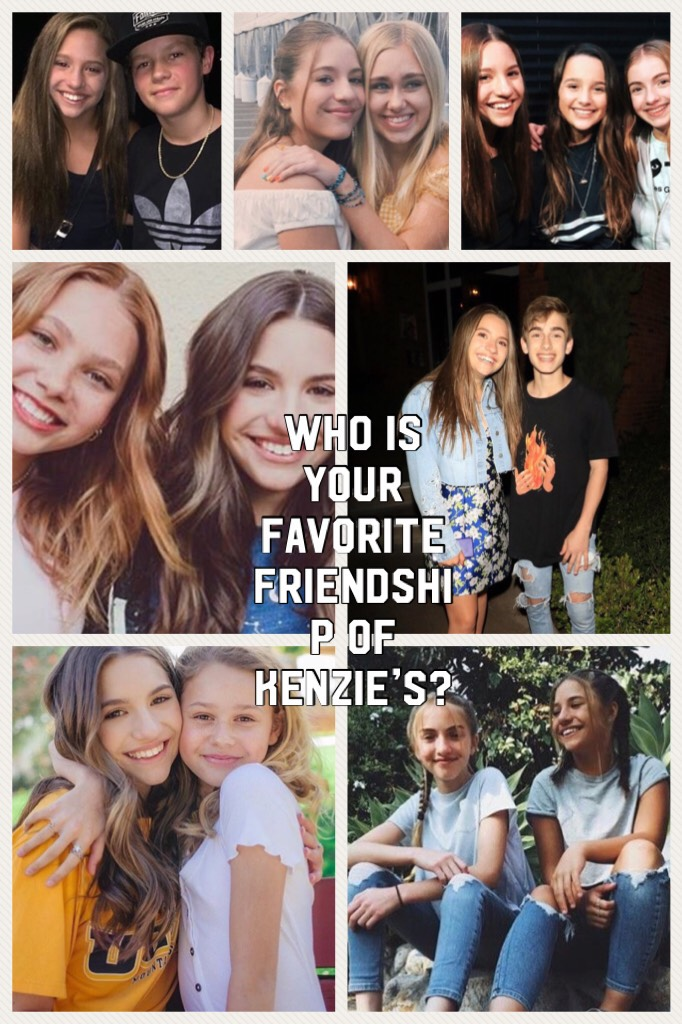 I'd say Ruby Rose, Lauren, Johnny, and Annie💗💗