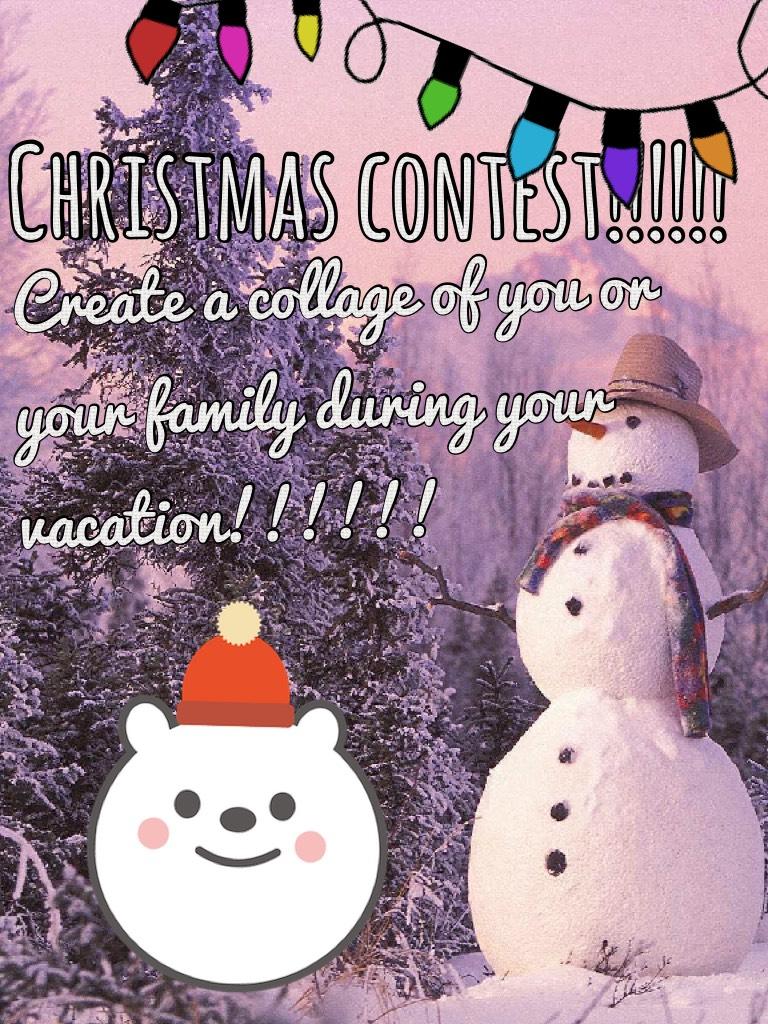 Christmas contest!!!!!!